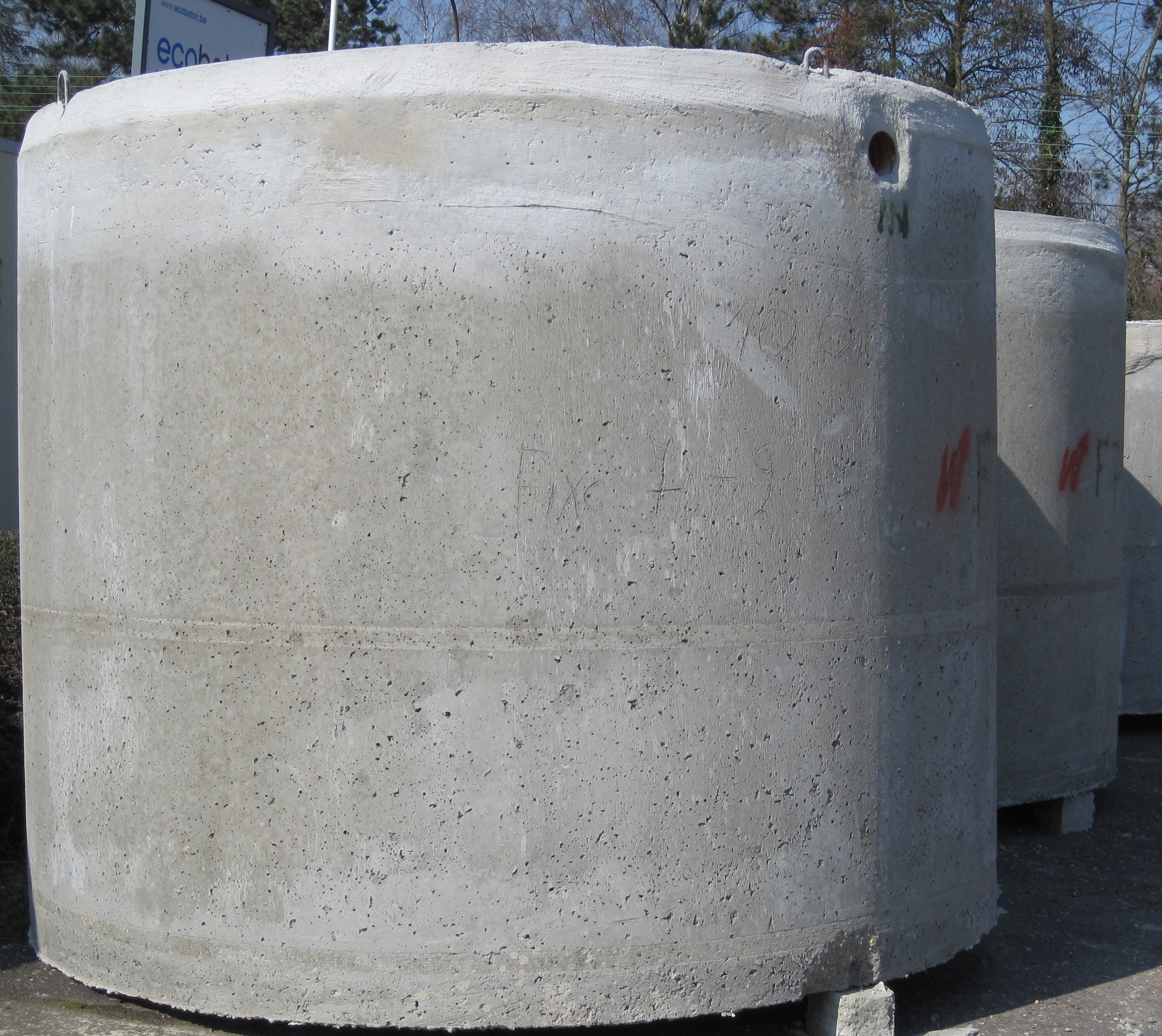 Citerne eau de pluie gedimat materiaux bricolage for Produit pour citerne eau de pluie