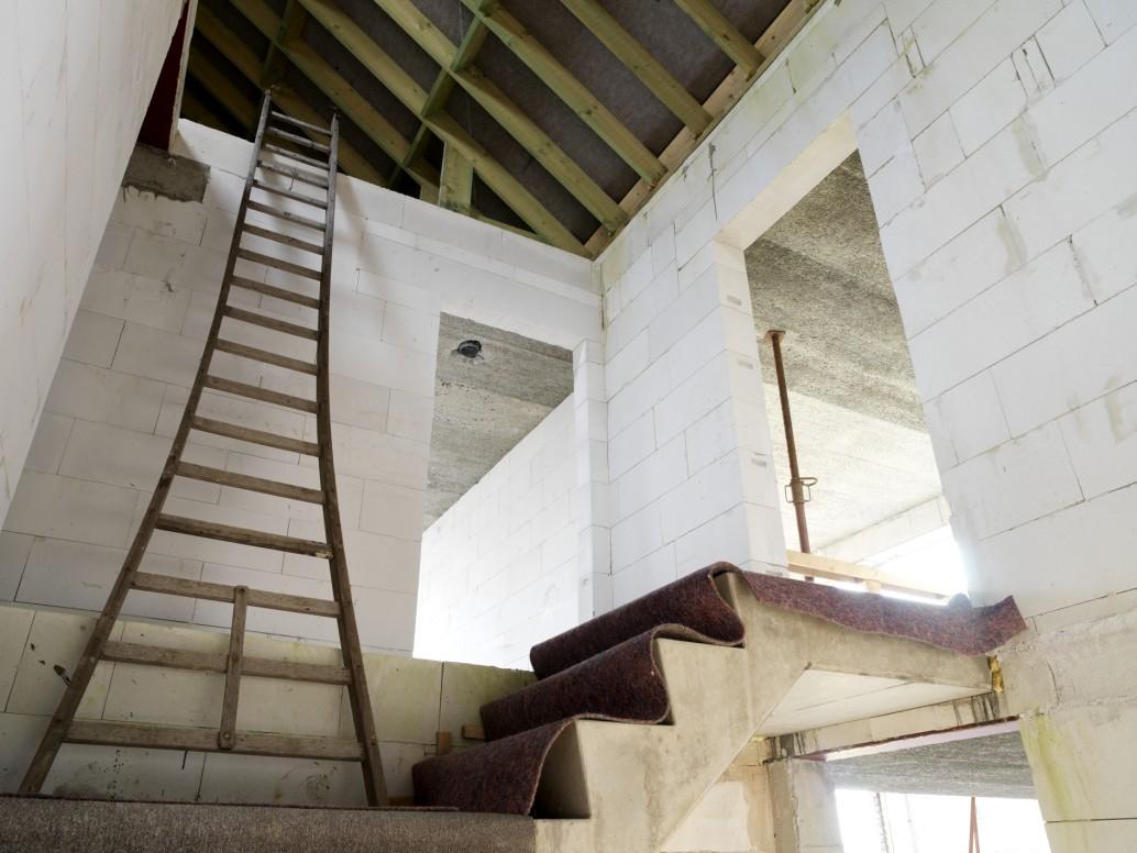 B ton cellulaire gedimat materiaux bricolage - Construction beton cellulaire ...