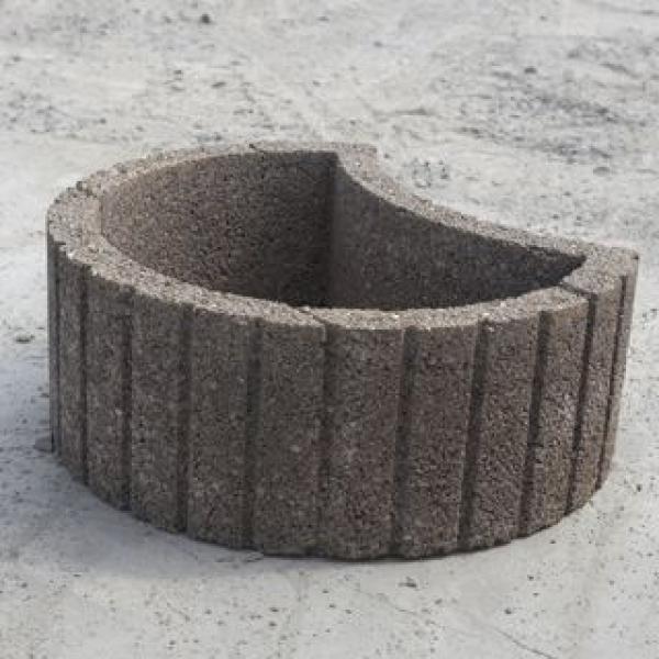 palissade pierre b ton ou bois gedimat materiaux bricolage. Black Bedroom Furniture Sets. Home Design Ideas