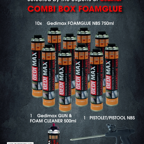COMBIBOX FOAMGLUE