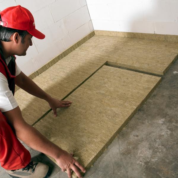Laine de roche gedimat materiaux bricolage for Laine de roche pour sol